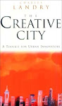 ". : ""Creative cities""  by Charles Landry : ."