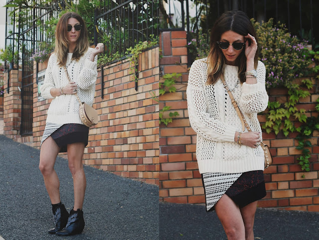 sweater, topshop, wrap skirt, skirt, fall, jewelry, tobruckave,