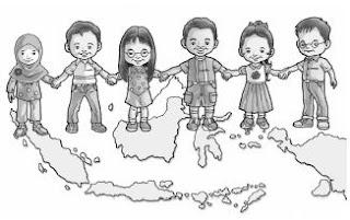 Perbedaan Jenis Kelamin Suku Bangsa Dan Agama Di Indonesia Pelajaran Kelas 1 Sd Bingar