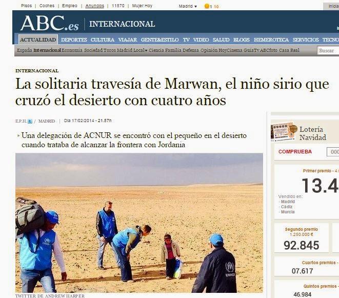 Noticias falsas 2014