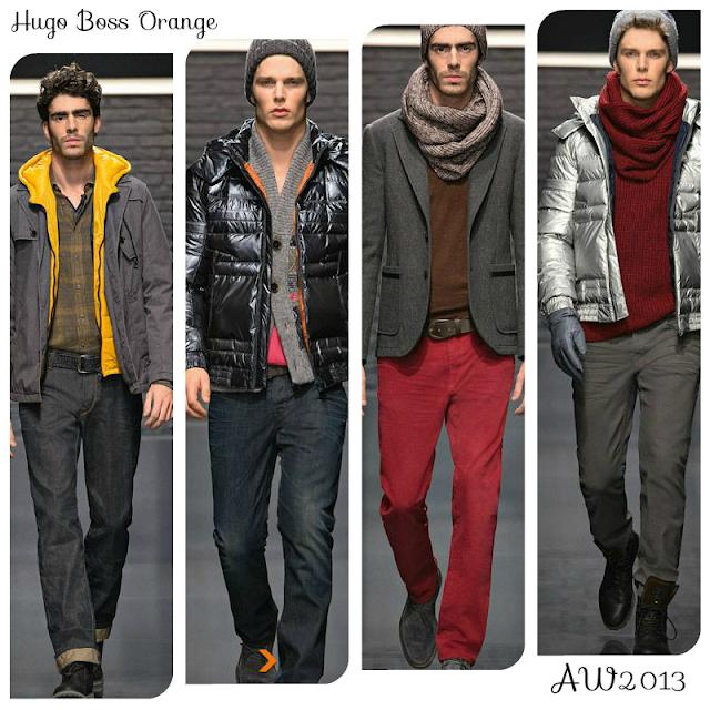 AW13: Hugo Boss Orange / L-vi.com