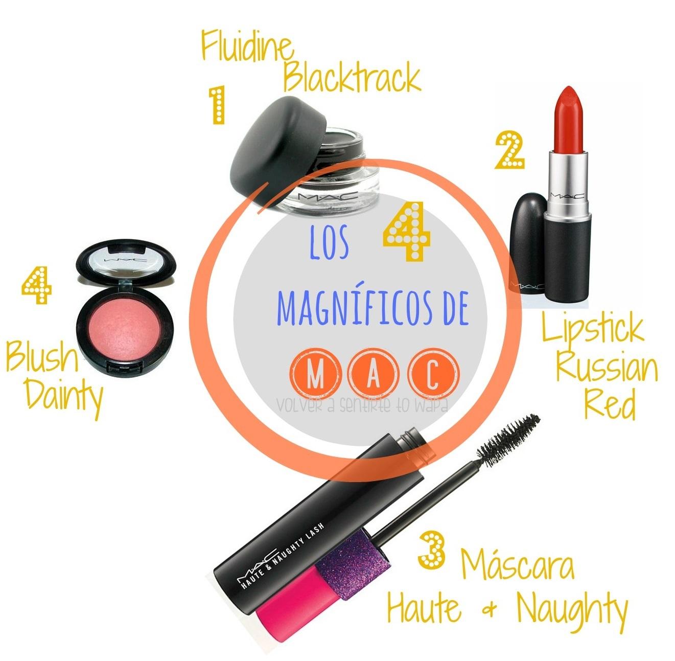 Los 4 productos de MAC más vendidos - Volver a Sentirte to Wapa