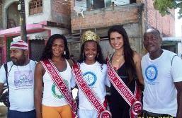 A Rainha do Carnaval 2011 de Salvador Érica Borges é da Comunidade da Região do Nordeste