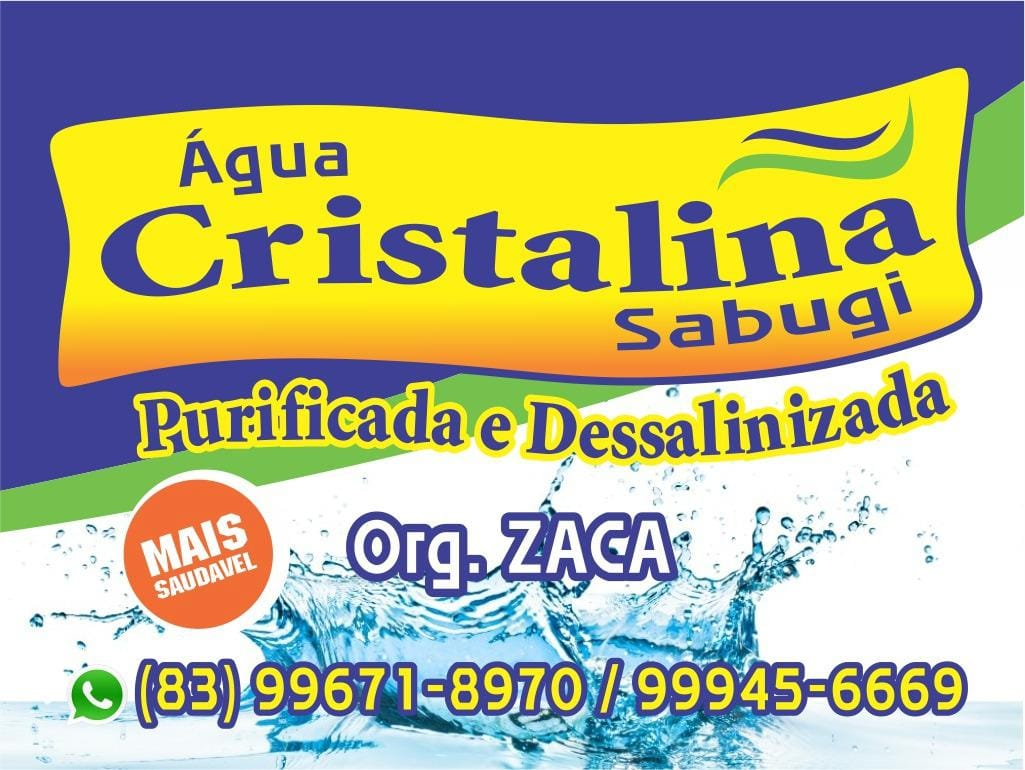 Água Cristalina Sabugi