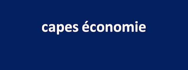 capes économie 2005