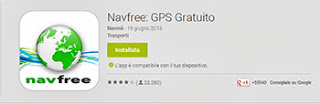 GPS Android senza Internet GRATIS - NavFree