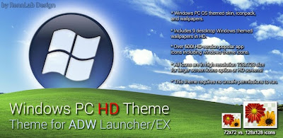 Windows 8 PC HD ADW NOVA Theme v1.2