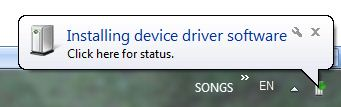 Error 633 installing modem drivers