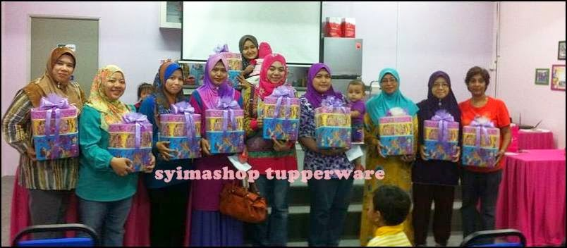 Syimashop Tupperware