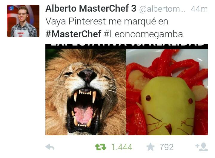 alberto leon come gamba masterchef
