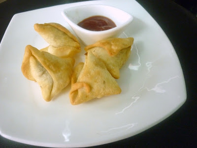 Onion Mini Samosa