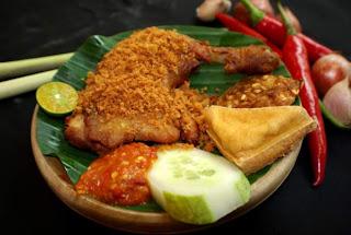 Resep Ayam Penyet Pedas
