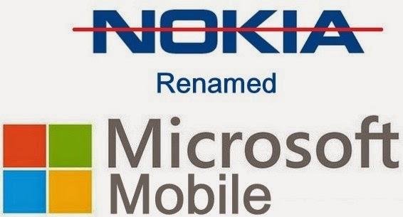 Nokia Berganti Nama Menjadi Microsoft Mobile