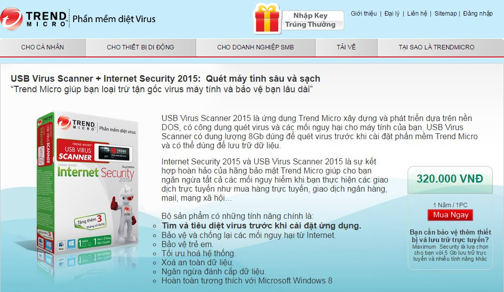 Trend Micro USB Virus Scan 2015