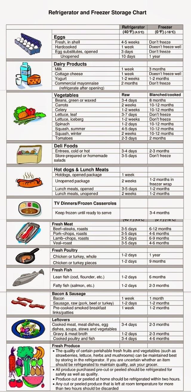 Makanan Perlu Elak Tersimpan Dalam Peti Sejuk Anda!