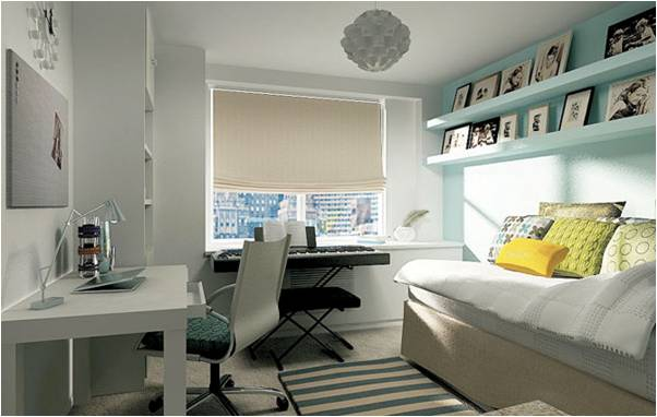 10 Beautiful Girls Dorm Rooms Roundups ~ Room Design Ide ~ 193634_Beautiful Dorm Room Ideas