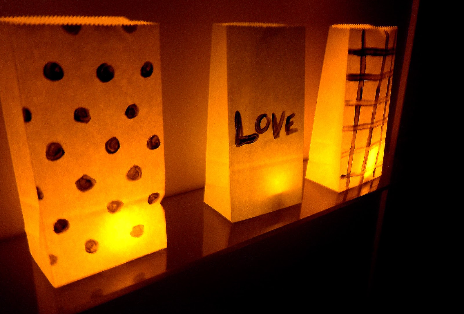 Candle Impressions Flameless Candle Blog : DIY Paper Bag Luminaries for Paper Bag Lanterns Diy  579cpg