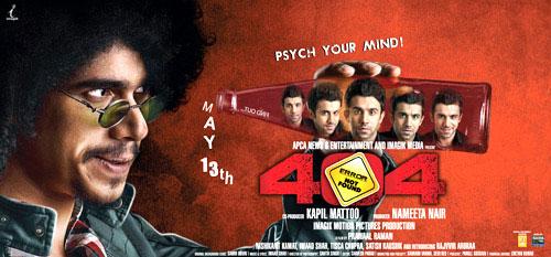 404: Error Not Found (2011) Hindi Movie *DVD*