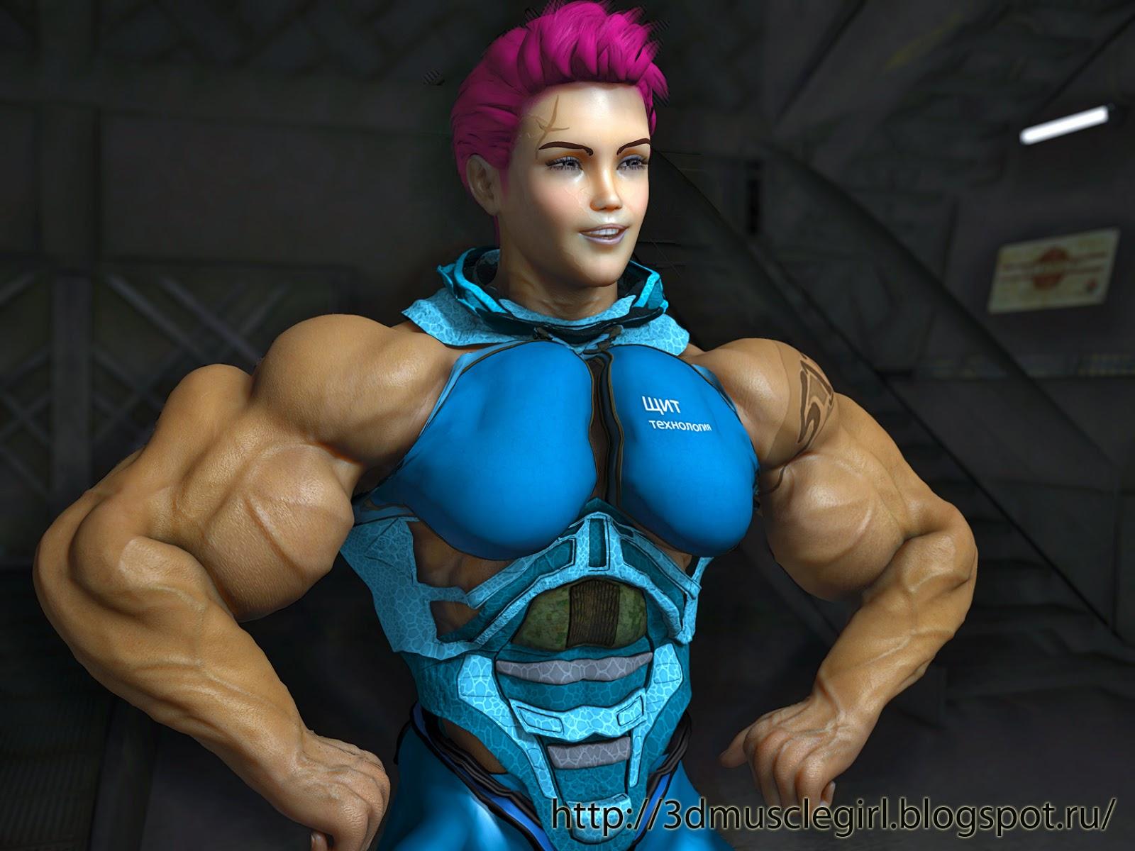 3d muscle girls xxx porn scene