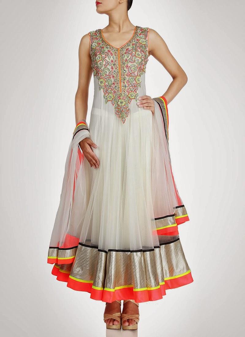 NewDesignsofLongAnarkaliSuitsCollection201428129 - New Designs of Long Anarkali Suits Collection 2014