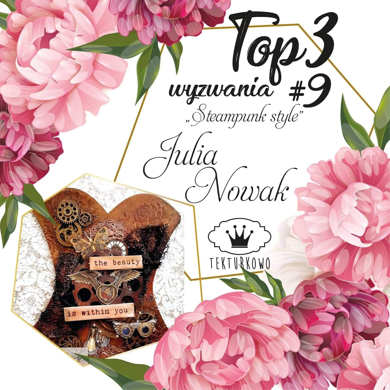 Top3 w wyzwaniu Tekturkowo