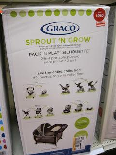 Graco Sprout N Grow Pack N Play