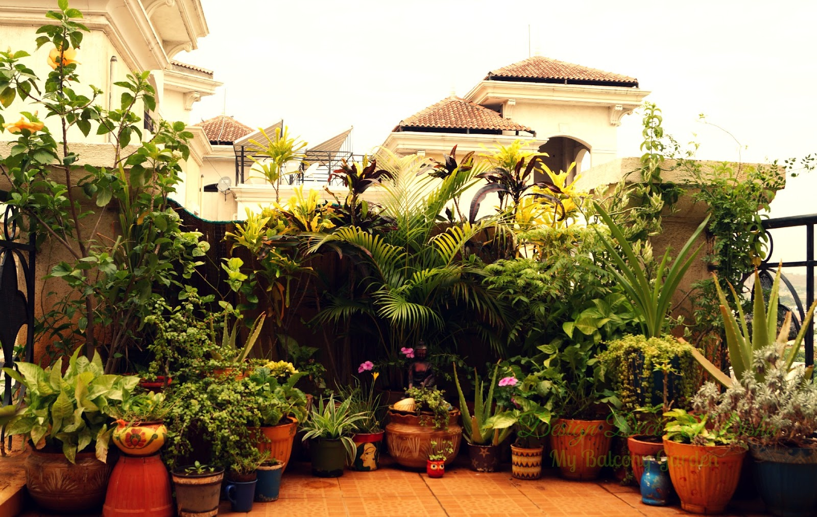 Design decor disha an indian design decor blog my for Balcony garden
