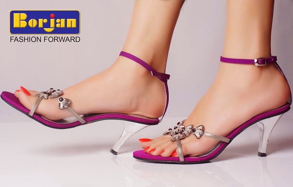 Purple Color High Heels