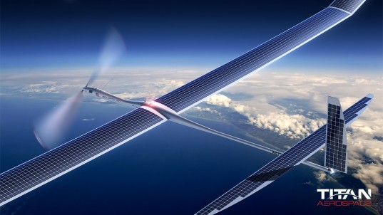 Facebook to buy drone maker Titan Aerospace for $60 million.