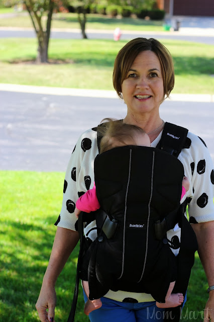 BabyBjörn Baby Carrier One Newborn position