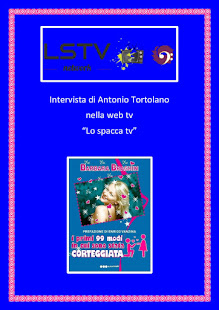"""Intervista di Antonio Tortolano nella web tv """"Lo spacca tv"""""""