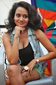New Actress Jhansi Hot Stills in Shorts-thumbnail-8