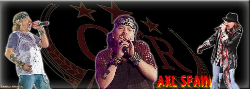Axl Rose, Guns N Roses, España