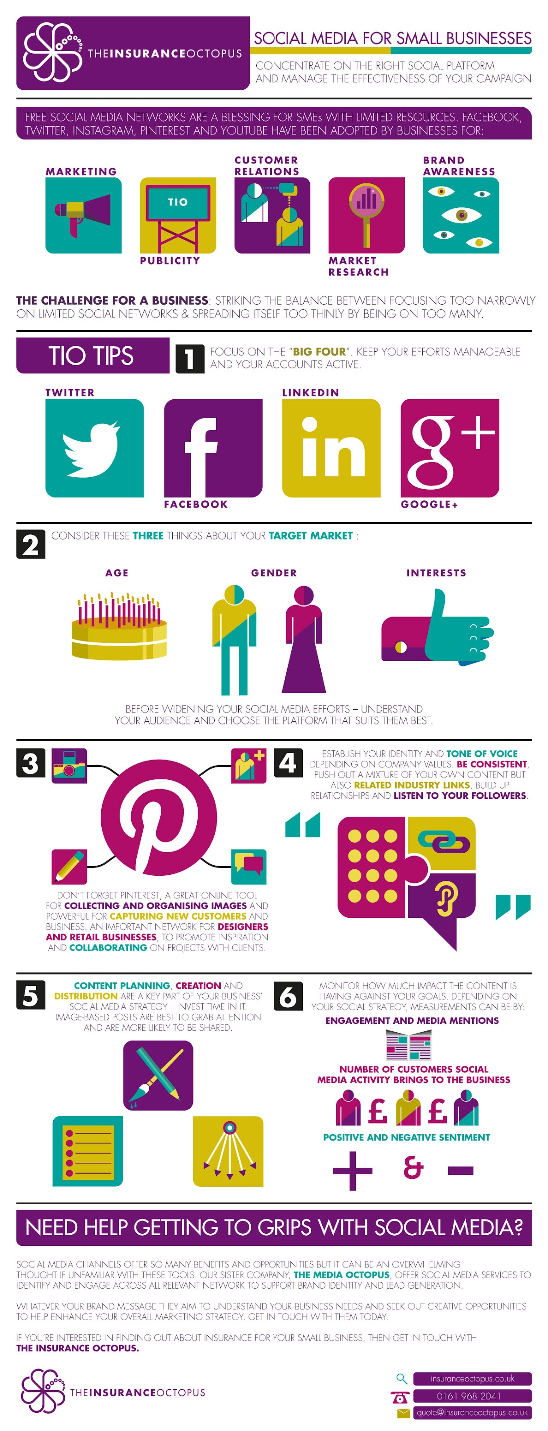 How To Make The Most Out Of Your #SocialMedia - #infographic