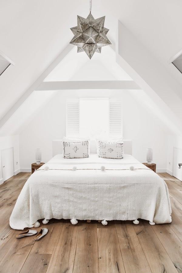 Dormitorio blanco decorar tu casa es - Decorar dormitorio blanco ...