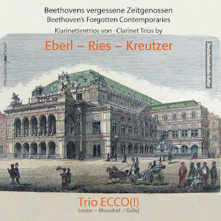 EBERL, A.  RIES, F.  KREUTZER, C. - Clarinet Trios
