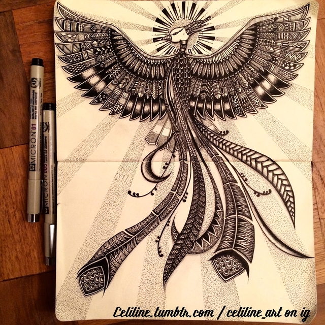 02-Celiline-Hand-Drawn-Zentangle-Doodles-Illustrations-Drawings-www-designstack-co