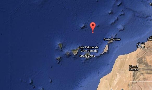 terremoto norte canarias, 26 enero