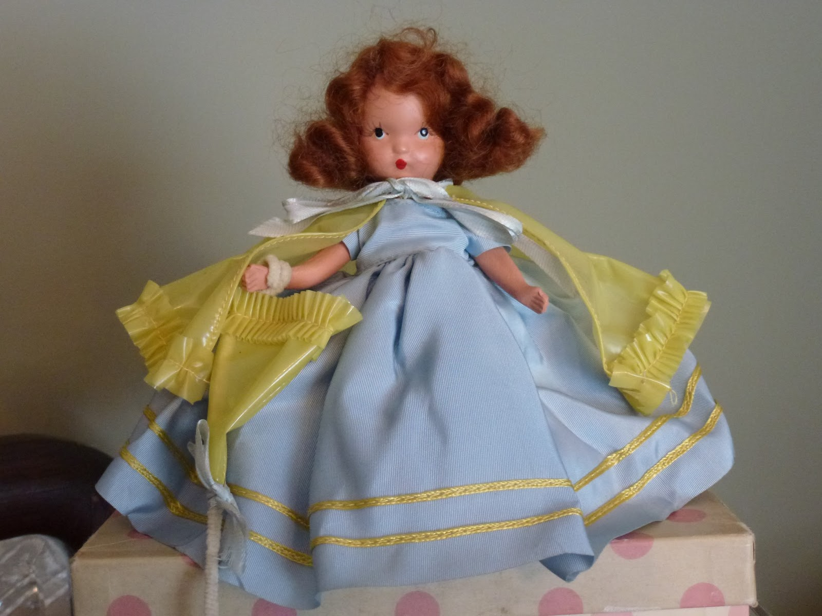 Frozen legs stamped storybook dolls usa on back white muslin pantalets