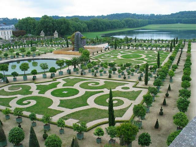 Jardines de Versalles Francia