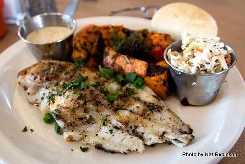salad cajun catfish po boy clean eating vegetables and salad yummly ...