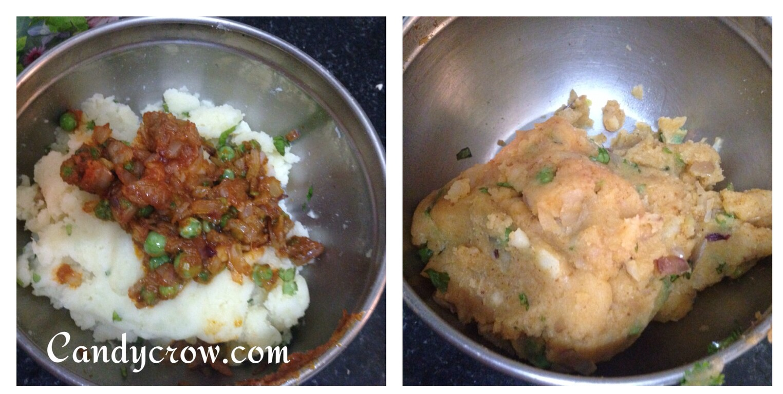 Cheese Cutlet - step by step Recipe