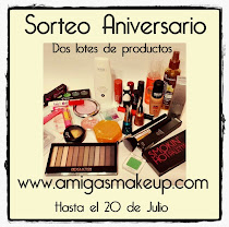 "Sorteo en ""Amigas Make Up"""