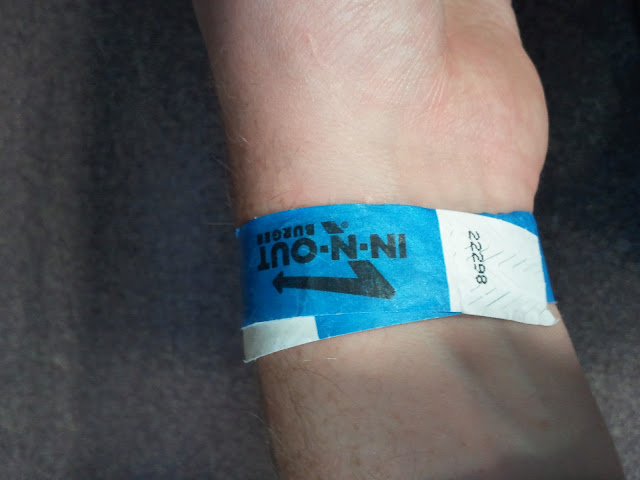 In-N-Out in Hendon - Wristband