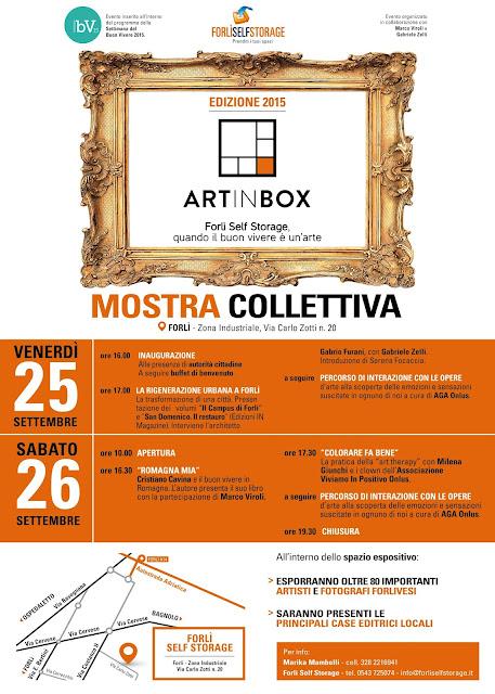 programma art in box di forlì 26 e 26 settembre 2015
