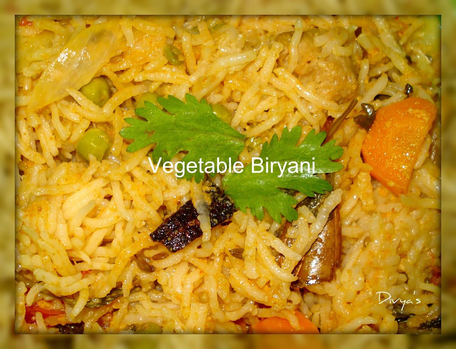 Vegetable Biryani | You Too Can Cook