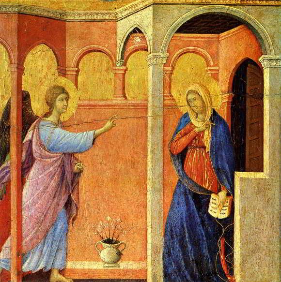 Karya Seni Lukis Gothic Duccio di Buoninsegna
