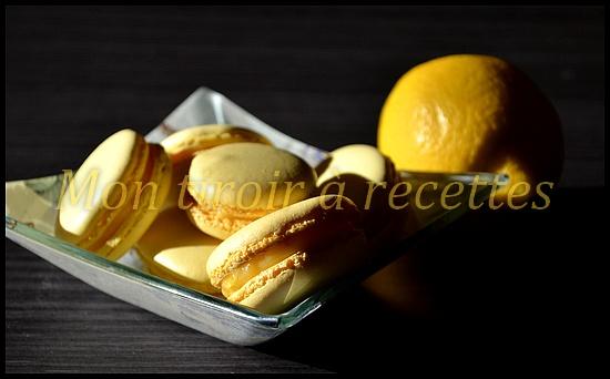 macarons infiniment citron
