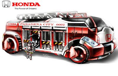 Honda Cars Concept Artist Falarsimons Creates A Asimo