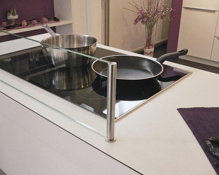 Protector isla salpicaduras tu cocina y ba o for Cocina con vitroceramica